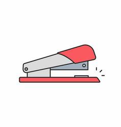 stapler icon vector image vector image