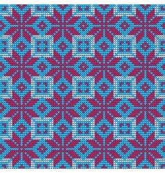 Ugly sweater Pattern vector image vector image