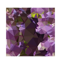 Rich lilac purple abstract low polygon background vector