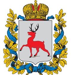 Nizhny Novgorod Oblast vector image