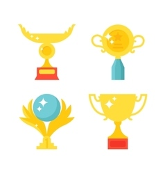 Sports awards vector image