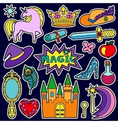 Magic patch set vector