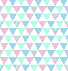 Tuekey Top Colors Background Triangle Polygon vector image vector image