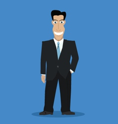 Businessman color vector image vector image