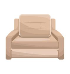 Sofa armchair furniture image vector