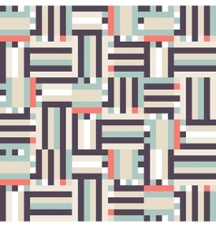 Digital pastel stripes vector image