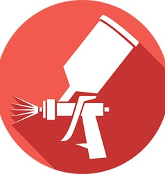 Spraygun icon vector