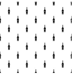 Design bottle pattern vector