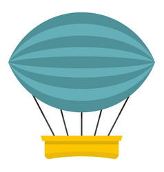 Aerial transportation icon isolated vector