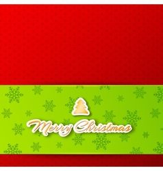 Merry christmas and happy new year background vector