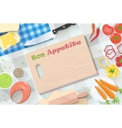 Food and cooking banner for decoration web-sites vector