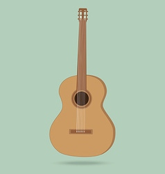 Guitar on sale isolated on background vector