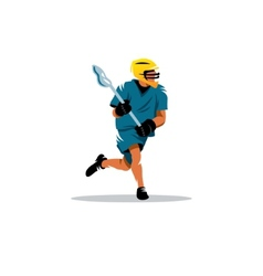 Lacrosse sign vector