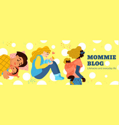 Motherhood hand drawn vector