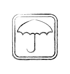 Keep dry symbol protect cargo from excessive vector