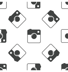 Square camera pattern vector