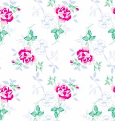 Flower pattern for textile design vector