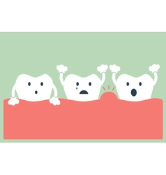 Tooth periodontal disease vector