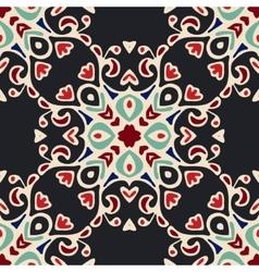 Abstact florish seamless motif vector
