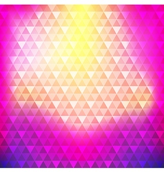 Abstract background colorful continuous triangle vector