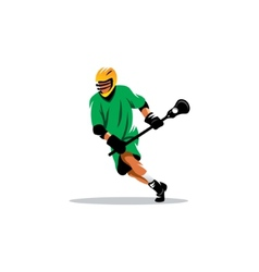 Lacrosse sign vector image vector image
