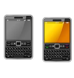 modern smartphone vector image vector image