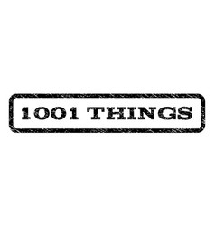 1001 things watermark stamp vector image