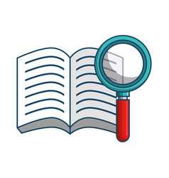study books design vector image
