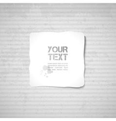 cardboard texture vector image vector image