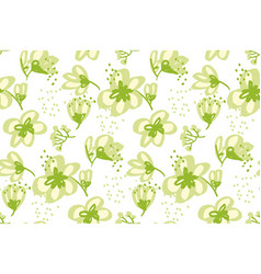 floral seamless pattern for surface design vector image vector image