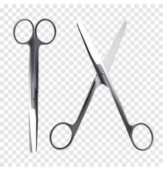 Scissors realistic vector image vector image