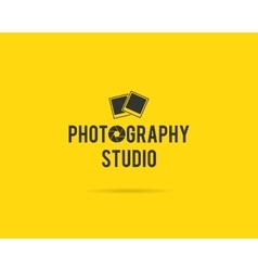 Vintage Photography Badges Labels Monochrome vector image vector image