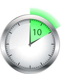 Timer with shine vector
