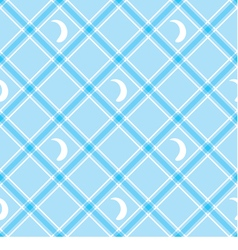 Seamless wallpaper blue checkered background vector