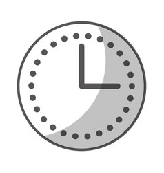 Wall watch time icon vector