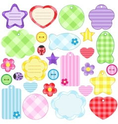 scrapbook elements vector image