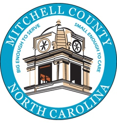 Mitchell County Seal vector image