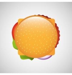 Fast food menu design vector
