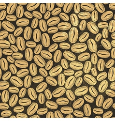 Coffee background seamless vector image vector image