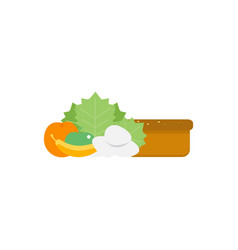 health food icons food intolerance vector image