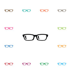 Isolated specs icon nerd element can be vector