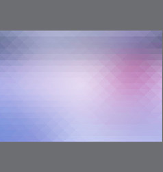 Pink grey rows of triangles background vector