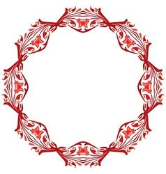 Decorative circle vector