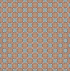 Brown And Blue Graphic Seamless Pattern vector image