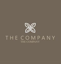 Butterfly logo ideas design vector