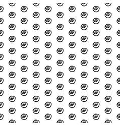 Hand Drawn Ink Polka Dot vector image