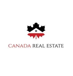 icon Real Estate Canada vector image