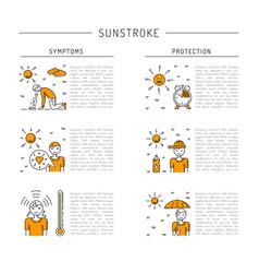 icon sunstrocke vector image