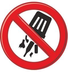 Prohibits waste dump vector