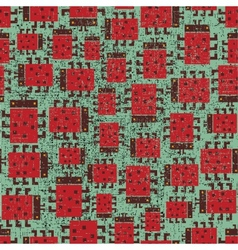 Seamless pattern with ladybird vector